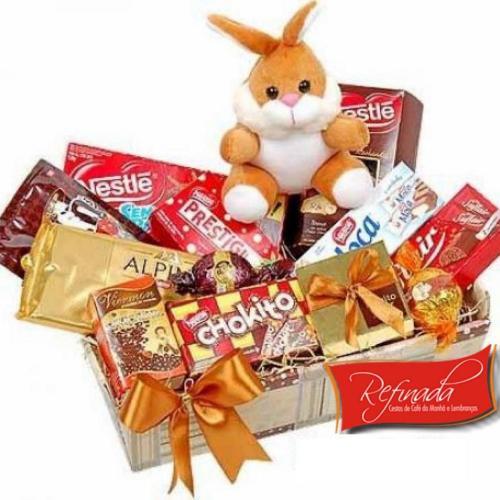 Páscoa com Chocolates na Bandeja R$ 179,00